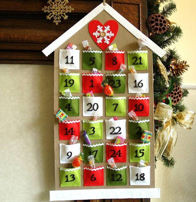 Список дел до нового года, как украсить дом, адвент-календарь