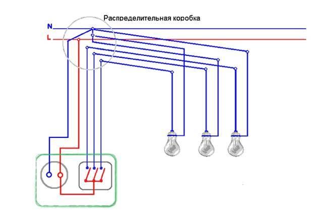 Как подключить розетку на 4 гнезда: два способа достичь одной цели