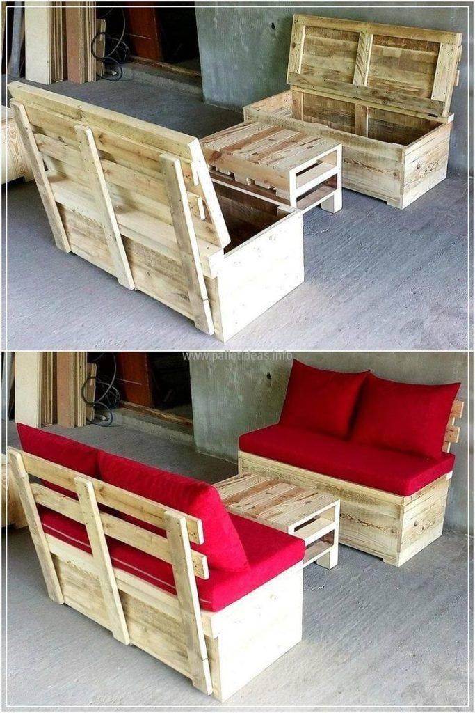 Как сделать мебель из поддонов - рекомендации по выбору строительного материала. фото интересных идей для дома и сада, технологии изготовления.