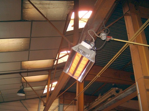 Инфракрасные обогреватели для промышленных помещений