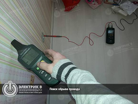 5 способов, как найти обрыв провода в стене