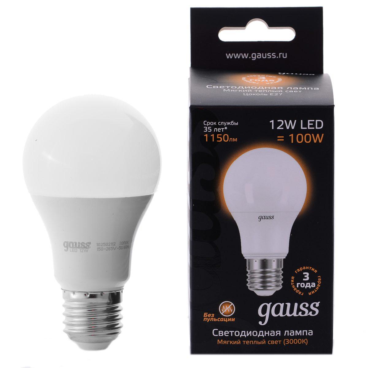 Светодиодные лампы gauss или osram — какие лучше выбрать