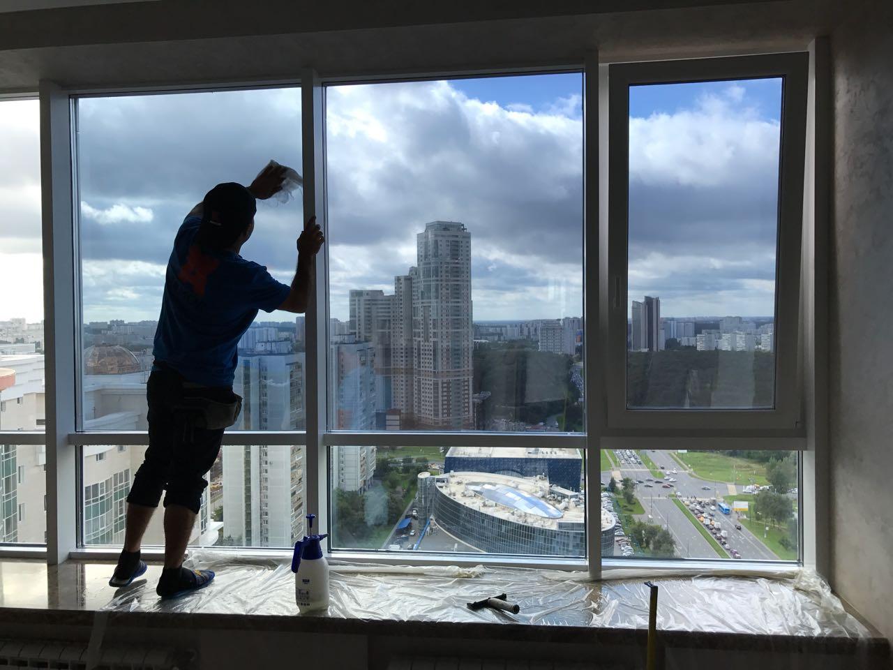 Как затонировать балкон и лоджию зеркальной пленкой своими руками: фото и видео, обзор