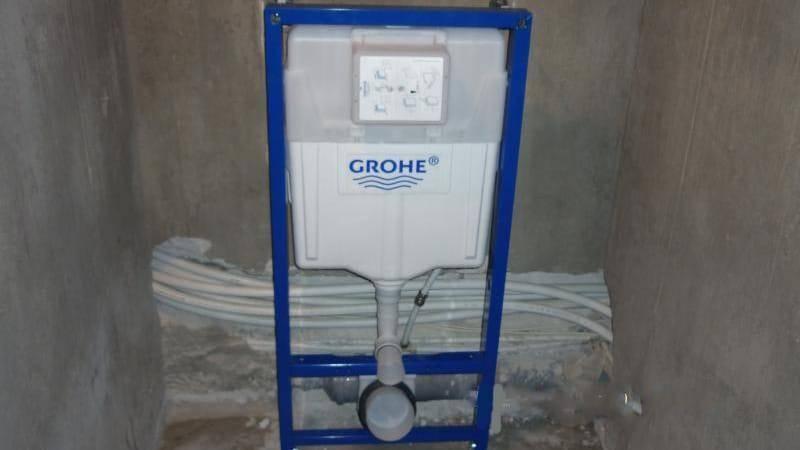 Подключение инсталляции к канализации — как подключить унитаз