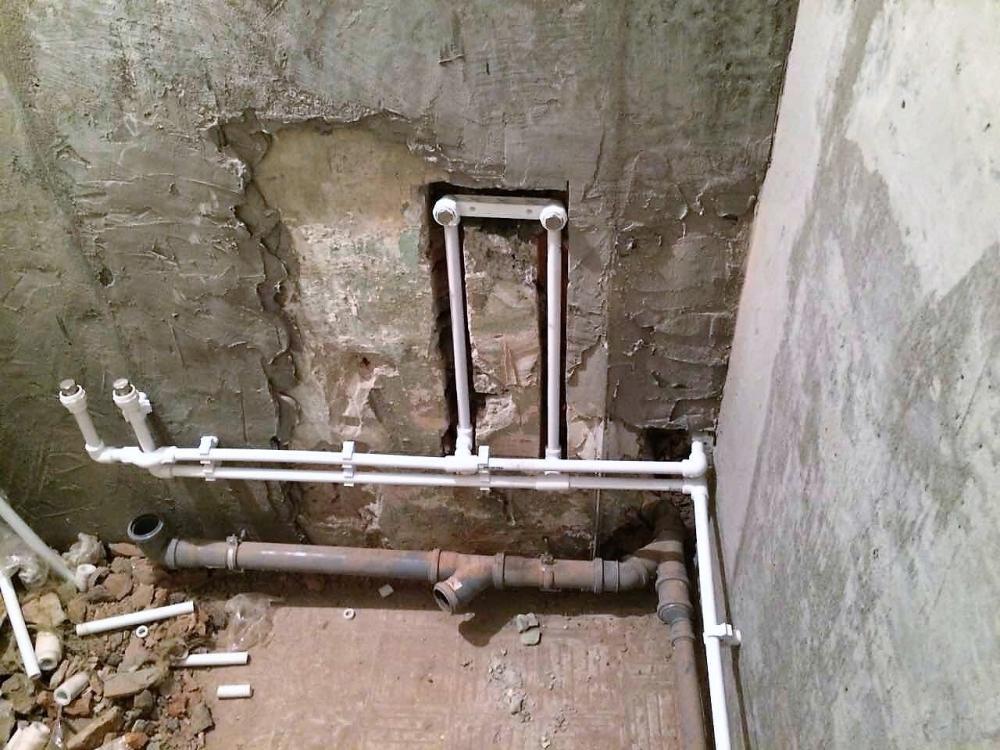 Разводка труб в ванной своими руками: проектирование, монтаж, схемы