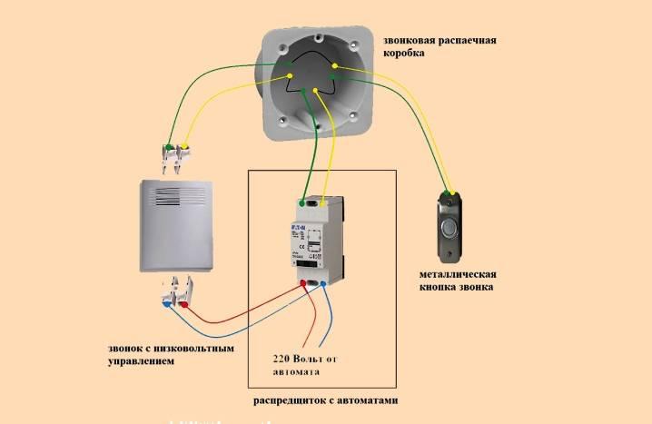 Подключение дверного звонка — как работает и как подключить
