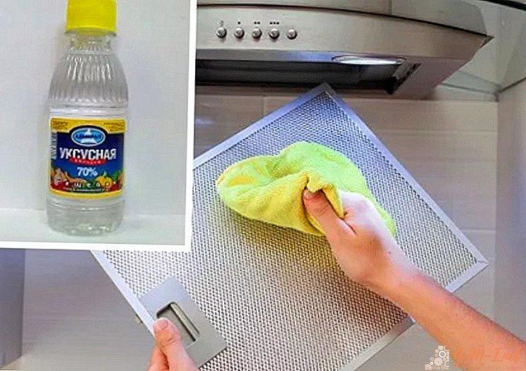 Как почистить фильтр вытяжки от жира за 5 минут