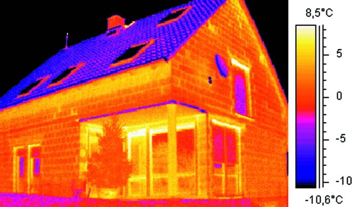 Тепловизоры для обследования зданий