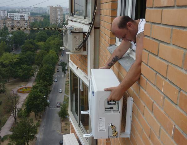 Можно ли установить кондиционер на балконе