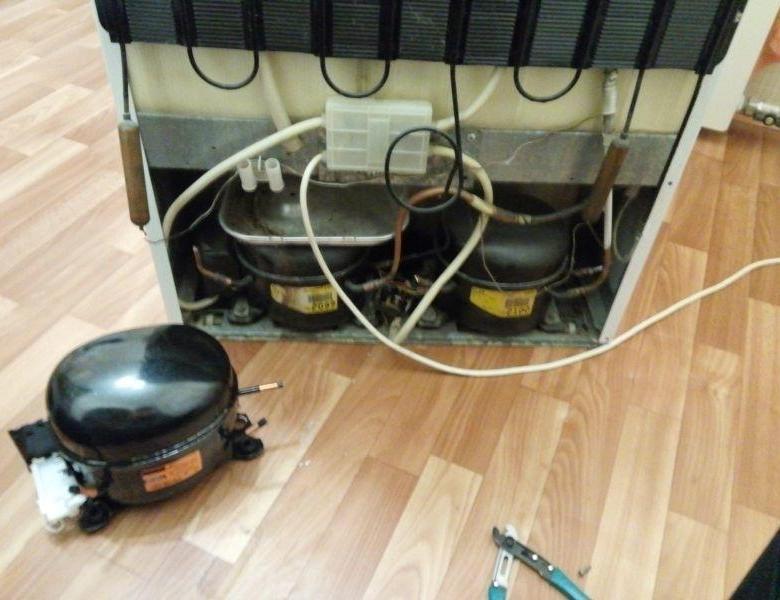 Компрессор для холодильника: причины поломок и замена
