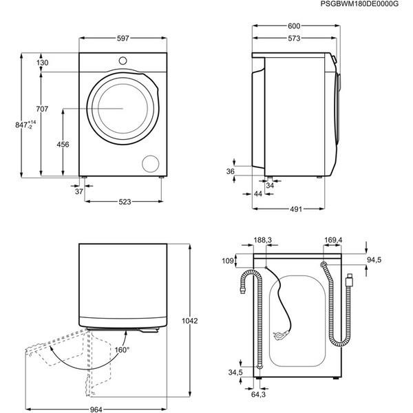 Стиральные машины на 5 кг: стандартные размеры и расход воды моделей на 5 кг, самые надежные стиральные машины