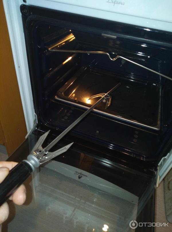 Когда коптит газовый духовой шкаф - наши действия