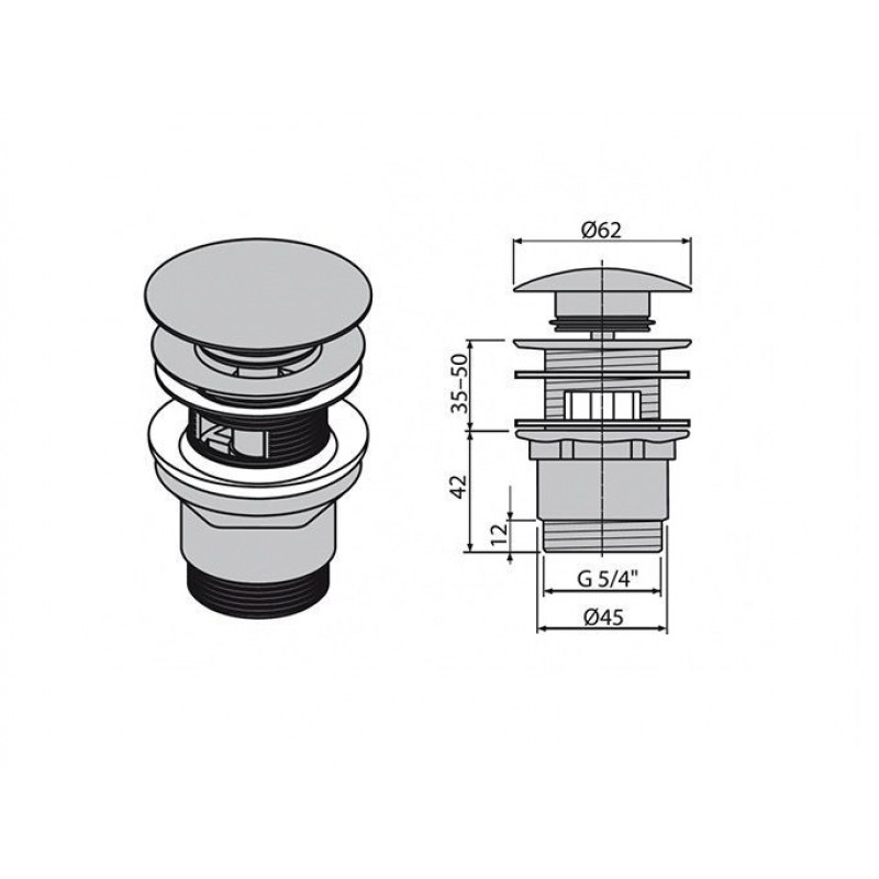 Донный клапан в смесителе, его плюсы и минусы