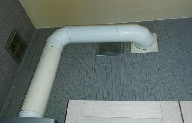 Труба для вытяжки на кухне: диаметр вентиляционной трубы для кухонного воздуховода, пластиковый раструб