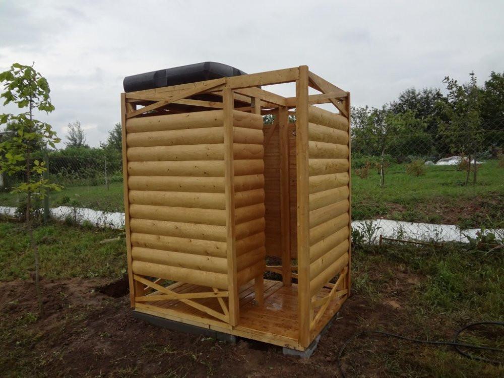 Душевые кабины для дачи: виды и варианты расположения