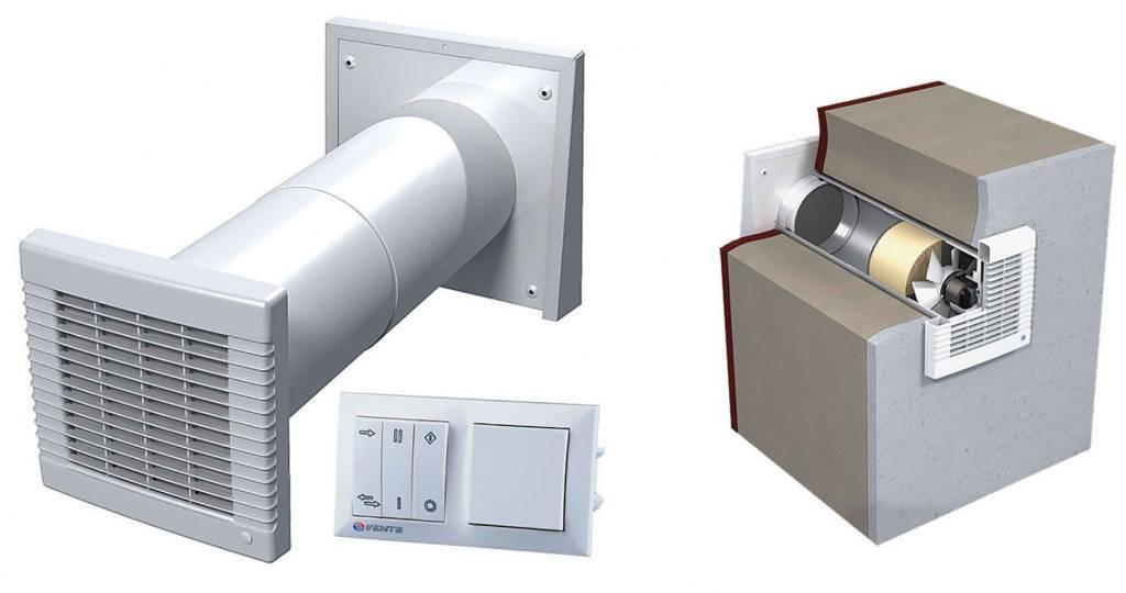 Как устроен приточный клапан, и как его установить в стену?
