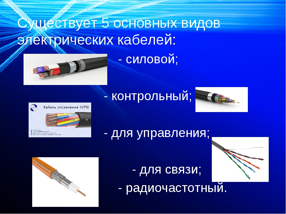 Силовые кабели маркировка и классификация - всё о электрике