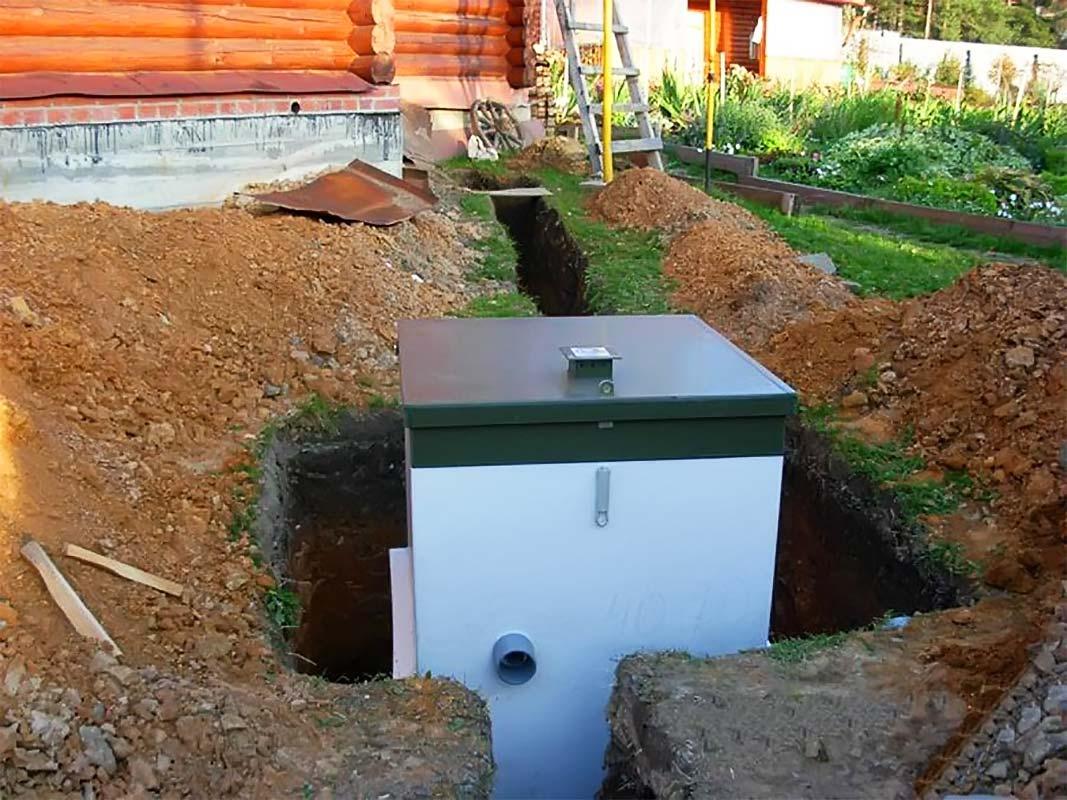 Как отремонтировать выгребную яму из бетонных колец