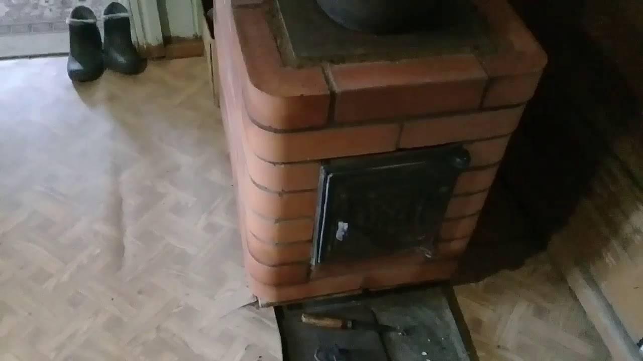 Как обложить железную печь кирпичом: порядок работ