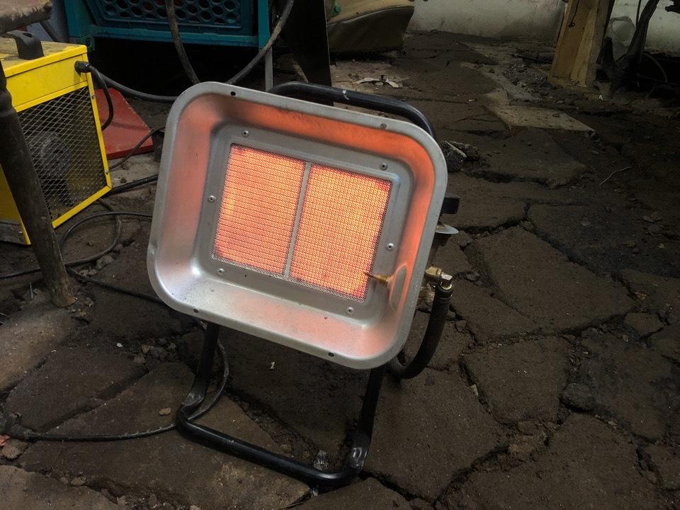 Самодельный обогреватель в гараж: устройство своими руками - точка j