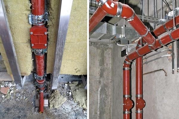 Чугунные канализационные трубы: размеры, гост, диаметр