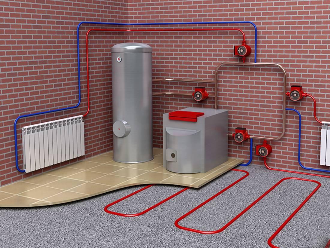 Отопление дома без газа — альтернативные варианты