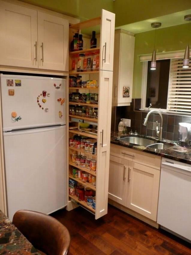 Умные выдвижные системы для кухни – ящики и полки, о которых мечтает каждая хозяйка!