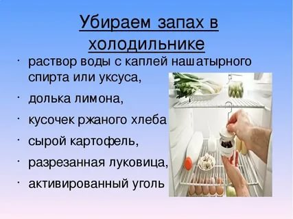 Как убрать запах из холодильника и сохранить свежесть продуктов