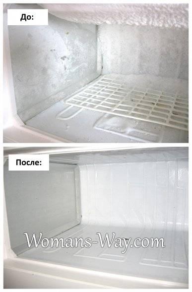 У холодильника задняя стенка покрывается льдом, как избавиться от снежной наледи