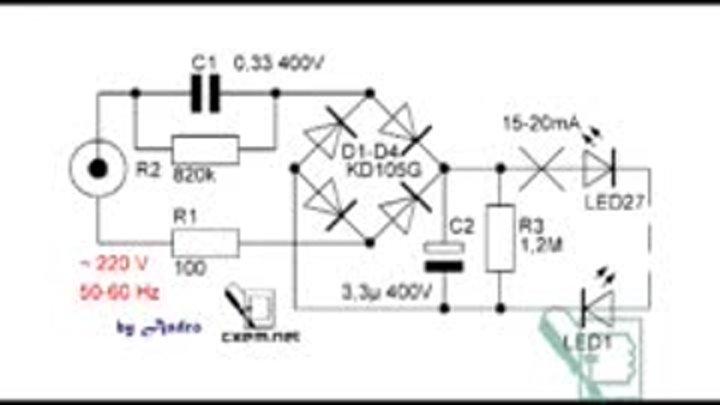 Драйвер для светодиодов своими руками с питанием от 220 в: как сделать, схема простого самодельного стабилизатора напряжения для работы лед светильника от сети