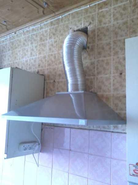 Как установить вытяжку над газовой плитой: высота установки