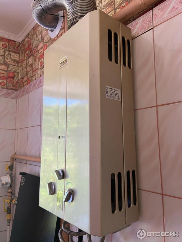 Газовый проточный водонагреватель vektor. почему не зажигается газовая колонка.