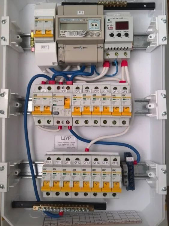 Сборка электрощитка своими руками: размещение и установка автоматов, рекомендации специалистов