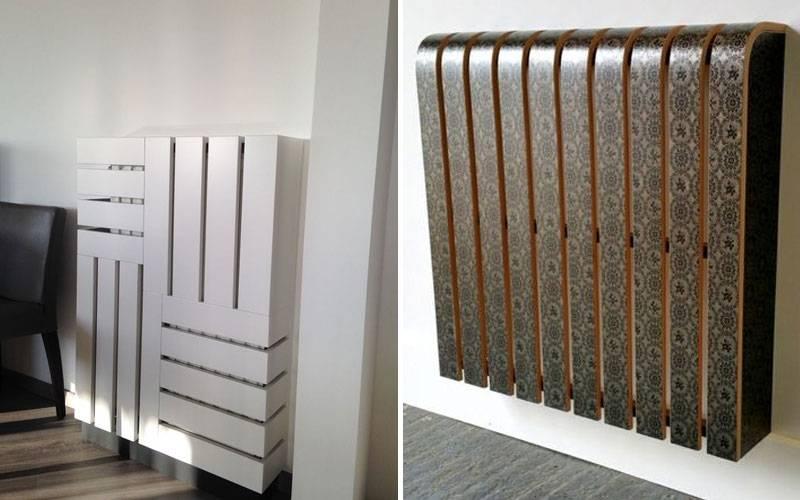 Как можно спрятать невзрачный радиатор и преобразить интерьер