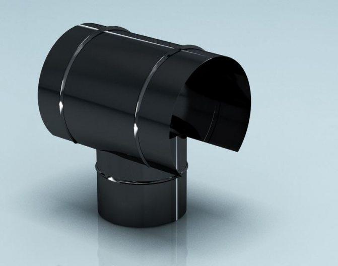 Дефлектор на дымоход: правила установки + как сделать своими руками