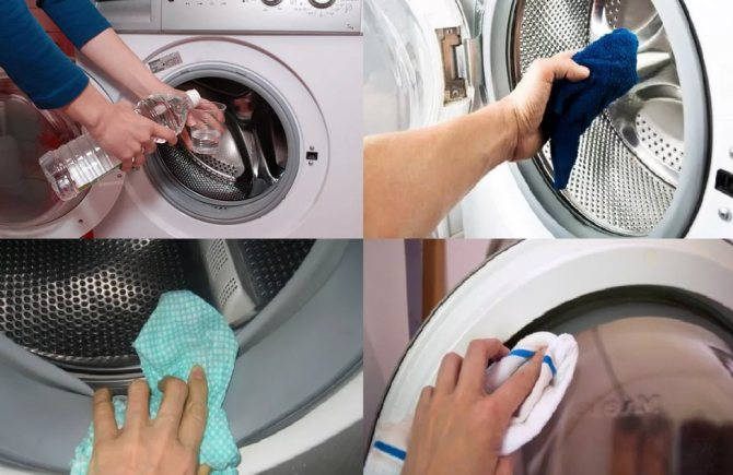 Как и чем почистить стиральную машину автомат