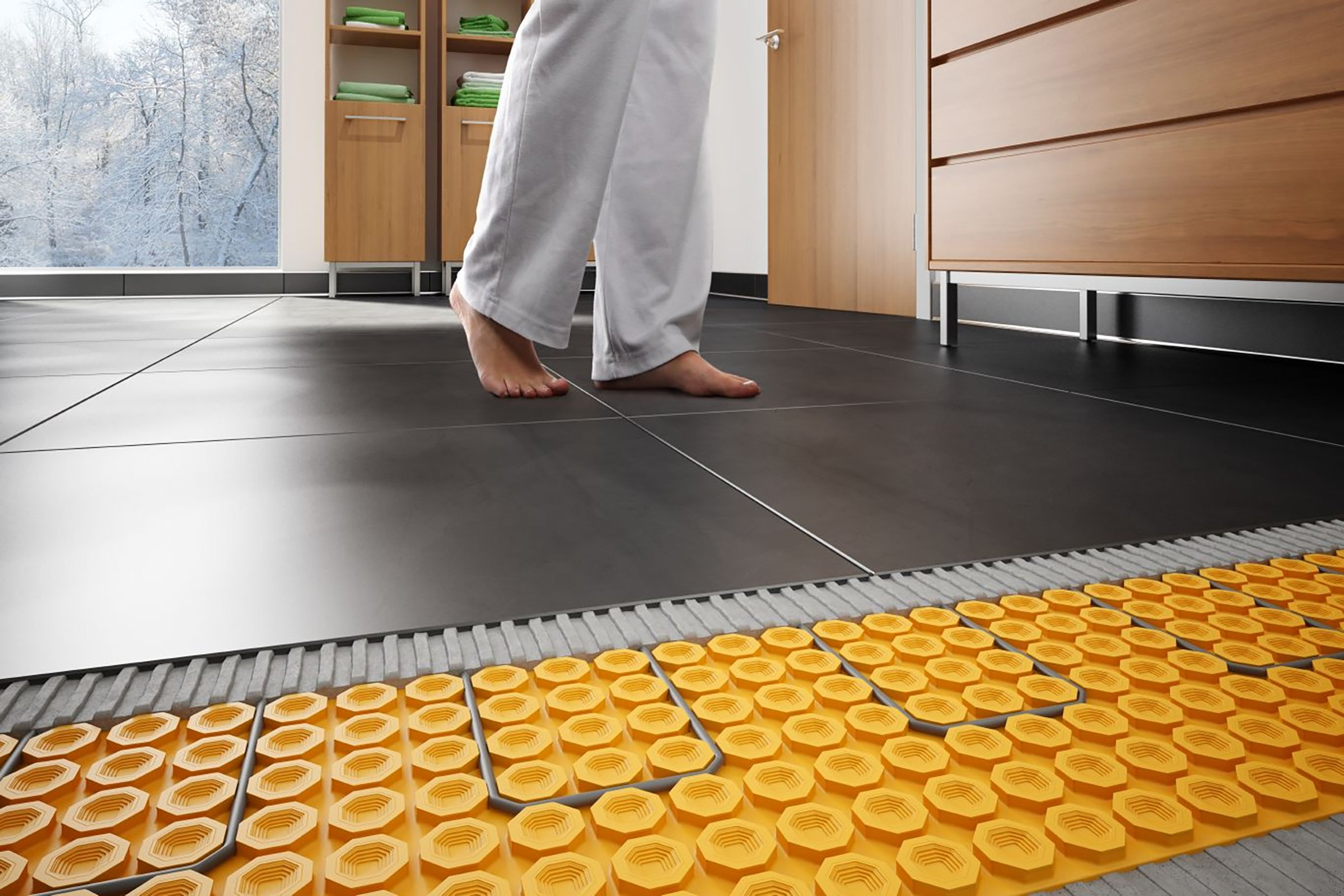 Какой тёплый пол лучше использовать для укладки под ламинат? советы мастеров по выбору и укладке теплого пола