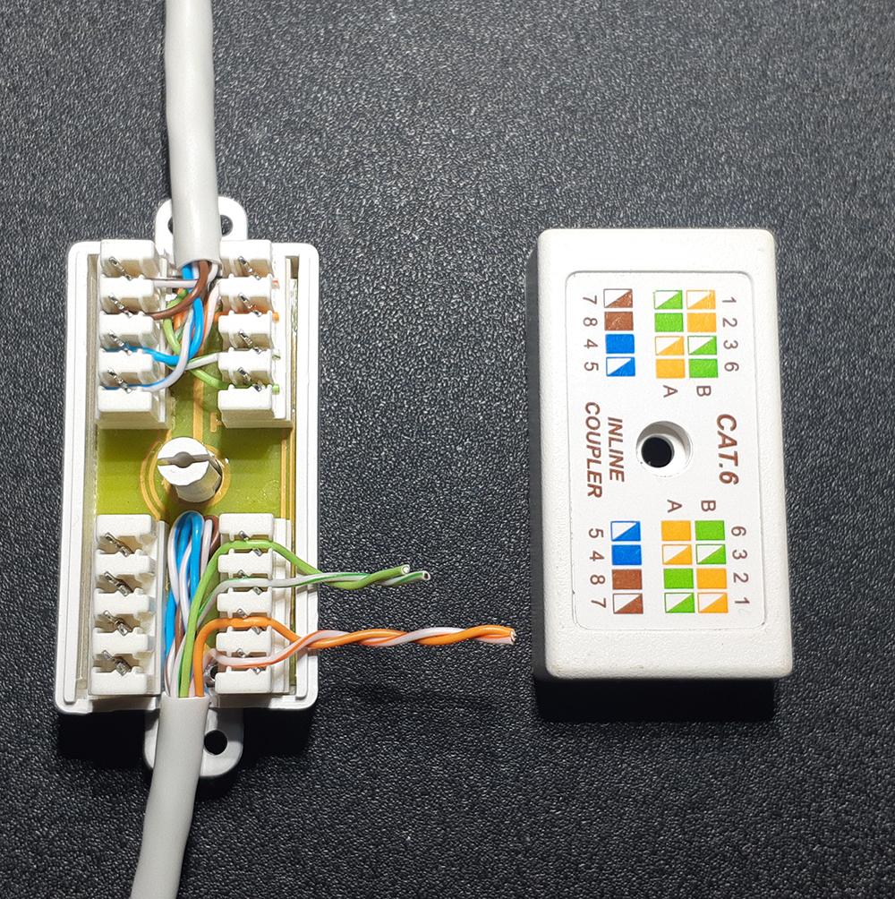 Как соединить интернет кабель (витую пару) между собой