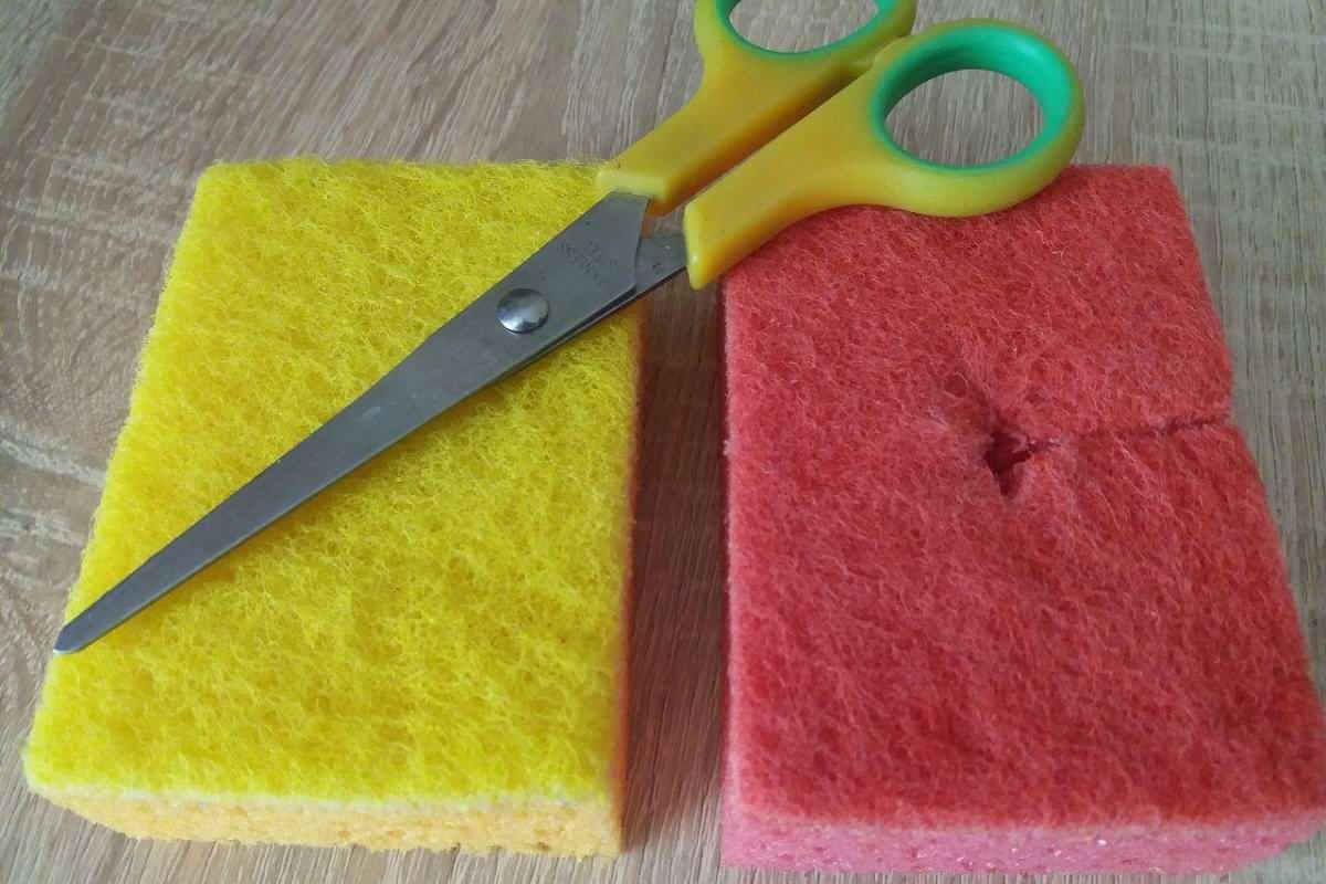 Где ещё можно использовать губки для мытья посуды