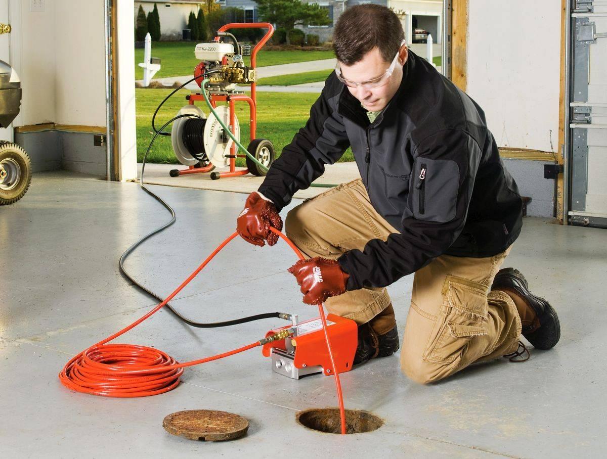 Обзор профессиональных методов прочистки канализации