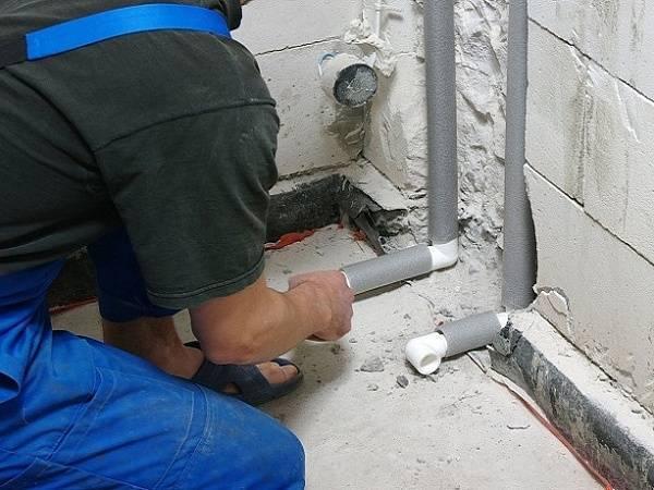 Замена водопроводных труб своими руками