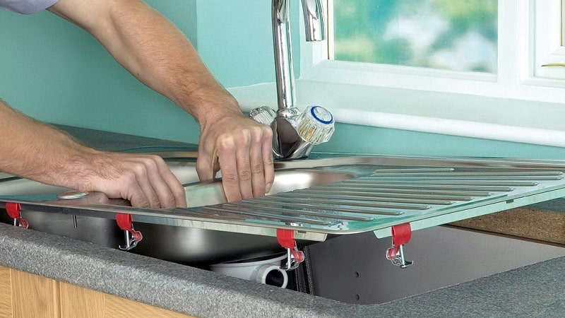 Установка сифона на кухне: как собрать и установить устройство + схемы и пример монтажа