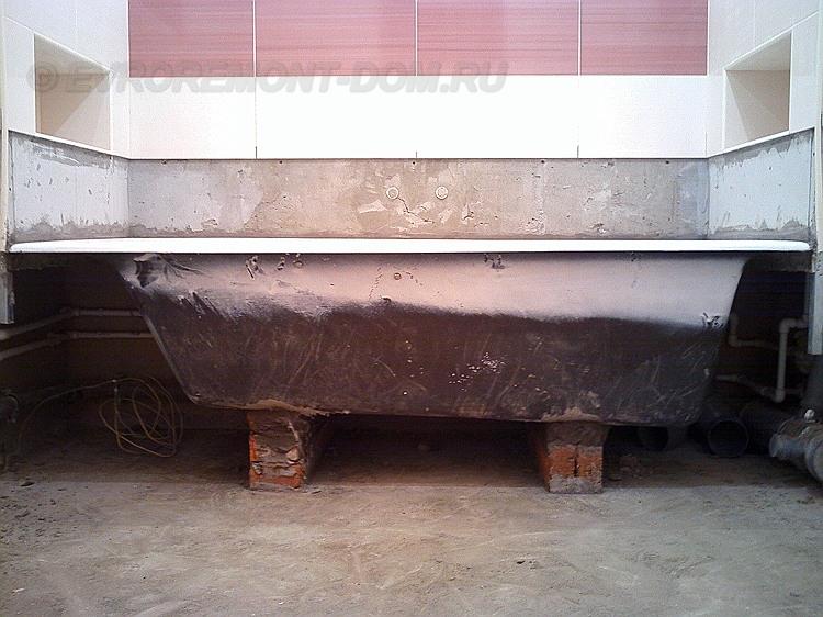 Установка ванны в частном доме своими руками пошаговое руководство