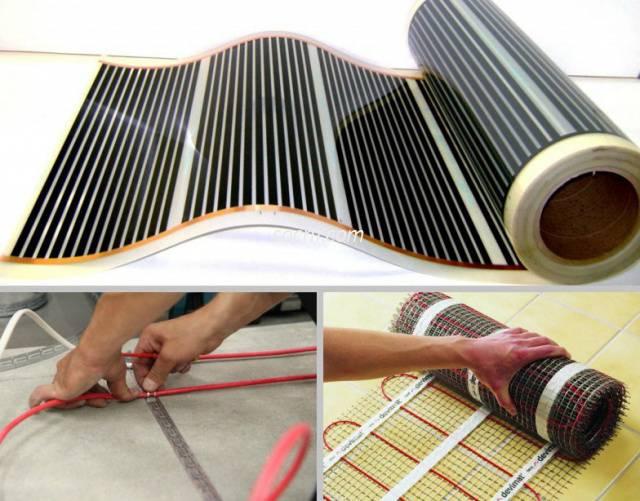 Технология укладки электрического теплого пола под плитку – нюансы монтажа