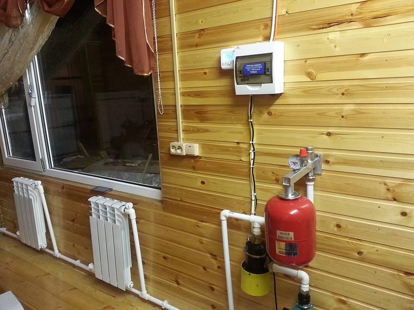 Как устроить отопление частного дома без газа?