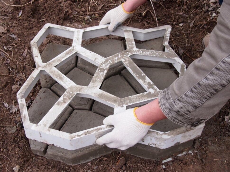 Как сделать формы для тротуарной плитки: выбор материалов и красивых форм для плитки