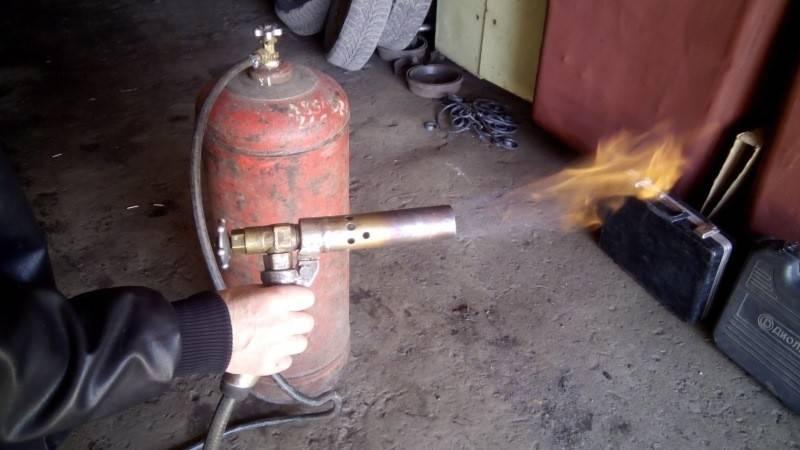 Газовая горелка для пайки своими руками